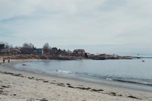 beach behind my air bnb.